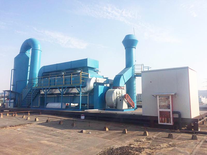 催化燃烧装置处理有机废气的技术性能及特点