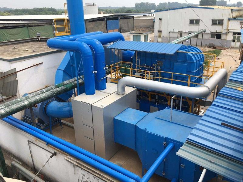 废气处理厂家设备是如何工作的?