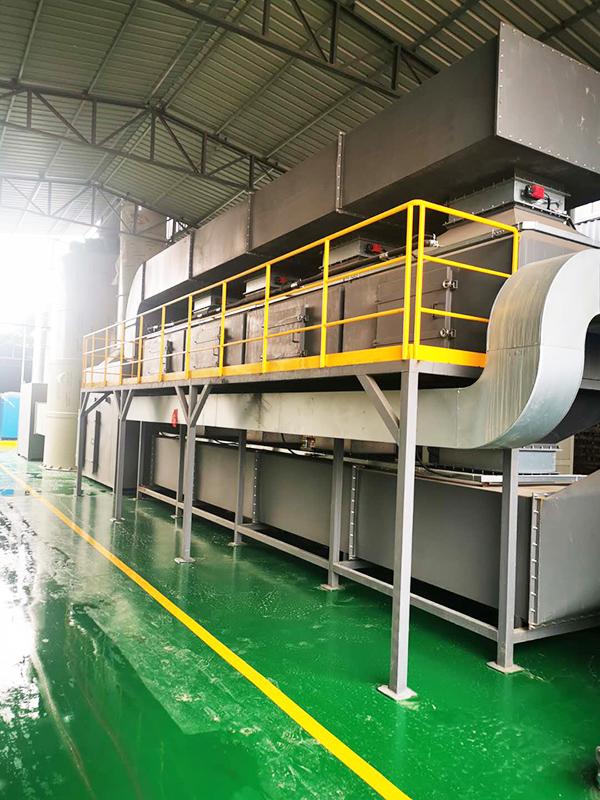 活性炭吸附催化废气处理一体化005