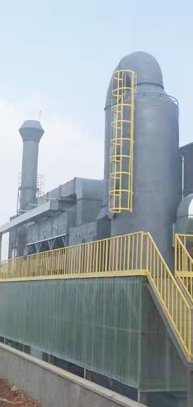 活性炭吸附催化废气处理一体化001